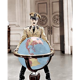 Il grande dittatore Charles Chaplin 1940 Photo Print