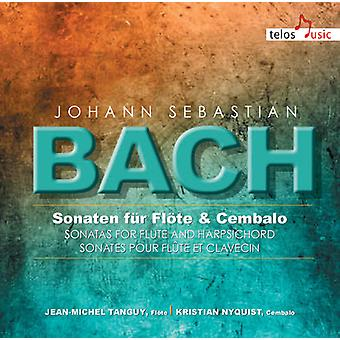 Bach, J.S. / Tanguy / Nyquist - Sons for Flute & Harpsichord [CD] USA import