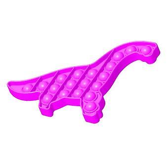الاشياء المعتمدة ® البوب دينو -- تململ مكافحة الإجهاد لعبة لعبة لعبة سيليكون الوردي