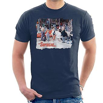 Supercar Birthday In Black Rock Men's T-Shirt