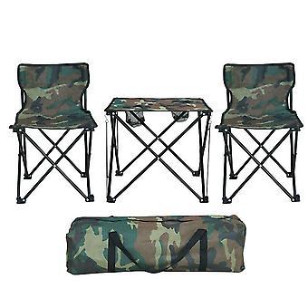 Portable Lightweight Folding Camping Table Chair Garden Set