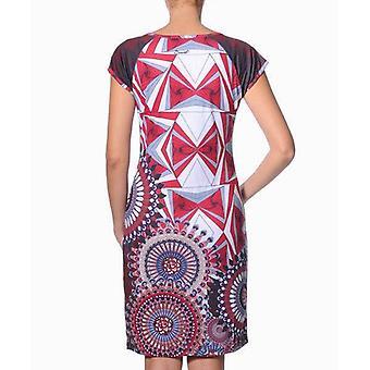 Smash Women's Fitted Geometric Taquari Dress
