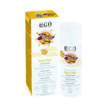 Baby and Children Sunscreen F50 + (With Grenade and Sea Buckthorn) 50 ml of cream