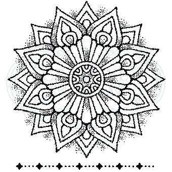 Woodware Clear Singles Mandala One 4 x 4 postimerkissä