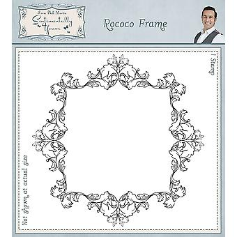 Sentimentally Yours Rococo Frame Pre Cut Rubber Stamp
