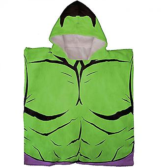 The Incredible Hulk Hooded Poncho