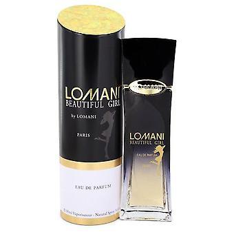 Lomani Beautiful Girl Eau De Parfum Spray By Lomani 3.3 oz Eau De Parfum Spray