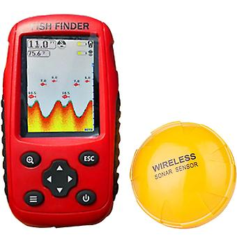Přenosný dobíjecí vyhledávač ryb Bezdrátový sonarový senzor Fishfinder Depth Locator