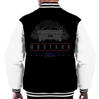 フォード マスタング スターズ メン&アポス;s ヴァーシティジャケット