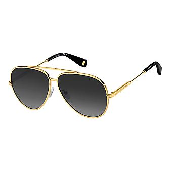 Marc Jacobs MJ 1007/S 001/9O Yellow Gold/Dark Grey Gradient Sunglasses