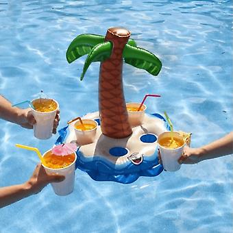 BigMouth Inc. Palm Tree Multi Inflatable Beverage Boat