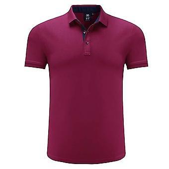 男子ゴルフTシャツ、通気性スポーツ半袖