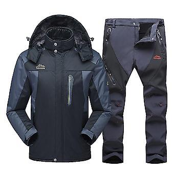 新滑雪服男冬季防水防风雪衣