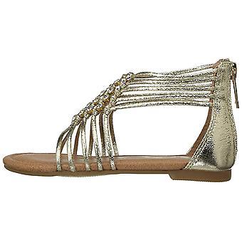 Lapset Nina tytöt Karlee kankaalle veto ketju Gladiator sandaalit
