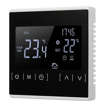 Thermostat d'écran tactile LCD de contrôleur de température de chauffage de plancher électrique