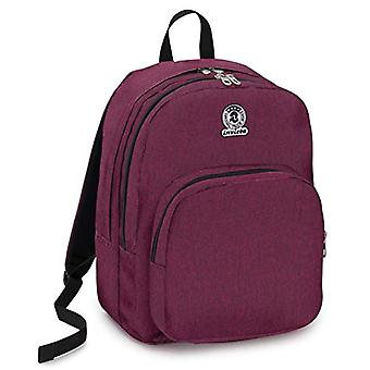 Benin M Eco-Material Invicta Backpack, Viola, 28 Lt, Double Compartment, Laptop Pocket up to 15'',School & Leisure