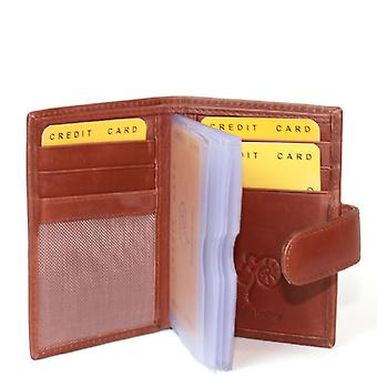 Eastern Counties Leather Ricky Credit Card Holder With Plastic Inserts