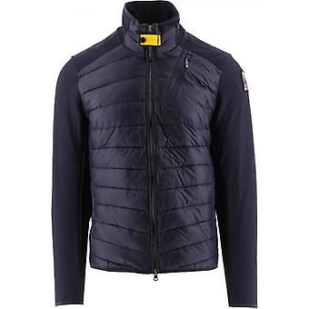 Parajumpers Navy Jayden Fleece Nylon Jacket