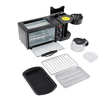 600w Coffee Pot+750w Oven, Bread Baking Maker
