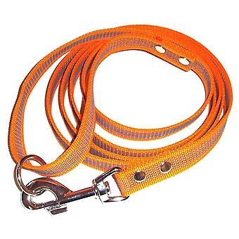 Anti-slip leash with handle, Orange