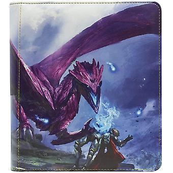 Dragon Shield Card Codex Zipster Binder - Small Purple 'Amifist'
