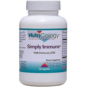 Nutricology / Allergi Forskningsgruppe Rett og slett immun, 60 Vegicaps