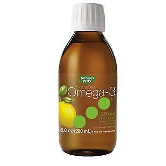Nature's Way NutraSea Omega-3, 1250 mg, Original 200 ml