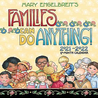 Mary Engelbreit Familjer kan göra vad som helst 17Det 20212022 Familjekalender av Mary Engelbreit