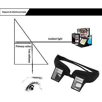 Τεμπέλης δημιουργικό περισκόπιο οριζόντια ανάγνωση παρακολουθήστε τηλεόραση στο κρεβάτι lie view γυαλιά