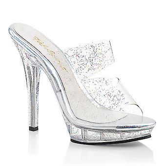 Fabulicious Damen's Schuhe LIP-102MMG Clr/Clr