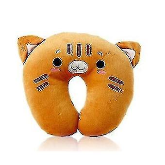 Neck Protection Cute Travel Pillow(Orange)