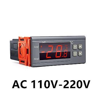 Digital temperaturregulator termoreglering termoreglering inkubatorrelä ledde 10a värmekylning stc-1000 stc 1000 12v 24v 220v