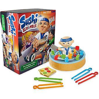 Sushi Scramble Kids Action Board Game   Preschool Family Board Games For Kids   Children Game
