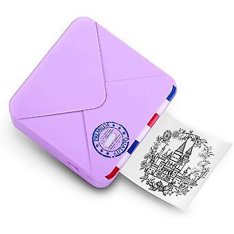 Mini Bluetooth Pocket Printer- 300dpi Termiska mobila skrivarskrivare