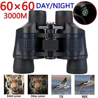 60x60 dag / nacht militaire leger zoom krachtige verrekijker optica jacht camping UK