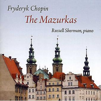F. Chopin - Chopin: The Mazurkas [CD] USA import