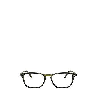 Eyeglasses oliver peoples ov5427u emerald bark unisex eyeglasses 49 green