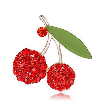 Cute Cherry Broszka Pin Kapanie Olej Odzież Akcesoria Biżuteria Klamra