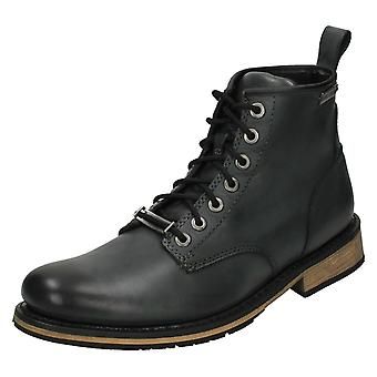 Mens Harley Davidson Lace-Up Ankle Boots Joshua