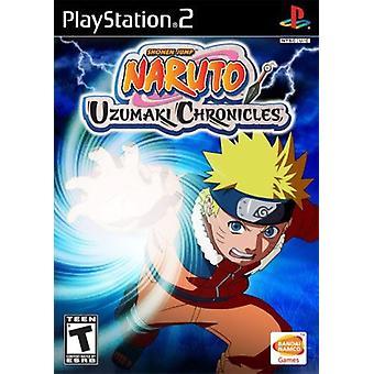 Naruto Uzumaki Chronicles PS2 spel