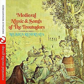 Musica Reservata - Medieval Music & Songs of the Troubadors [CD] USA import