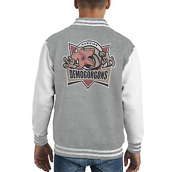 Demogorgons Stranger Things Kid's Varsity Ceket