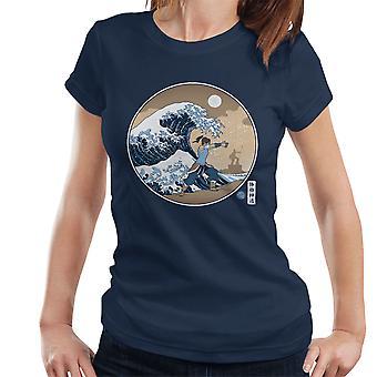 The Great Wave Of Republic Legend Of Korra Women's T-Shirt