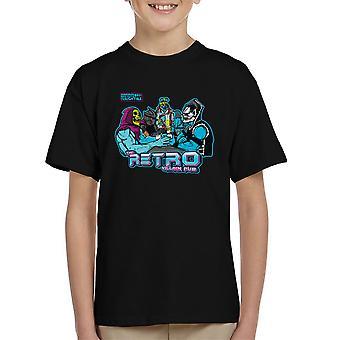 Retro Villain Pub Kid's T-Shirt