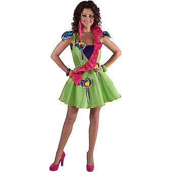 Vrouwen kostuums Fantasia jurk