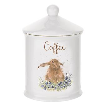 Royal Worcester Wrendale Designs Coffee Canister, Hare