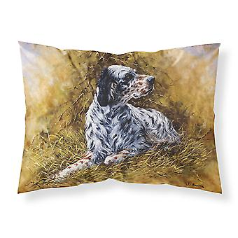 English Setter by Michael Herring Fabric Standard Pillowcase