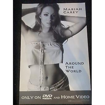 Mariah Carey rond de wereld Video collectie Poster