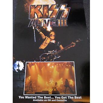 Kiss Alive III Poster