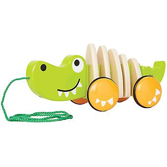 Hape HAP-E0348 à pied-A-Long Crocodile